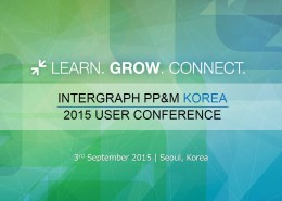 Intergraph PP&M Korea